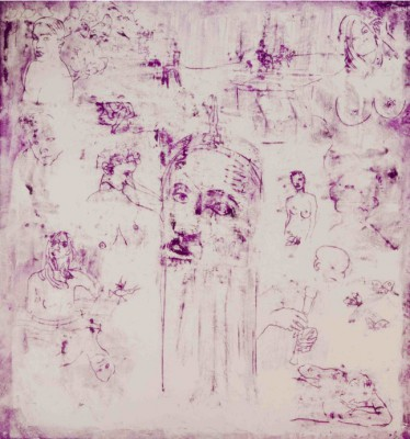 GASPARE MANOS - SERIES PURPLE NO. 3